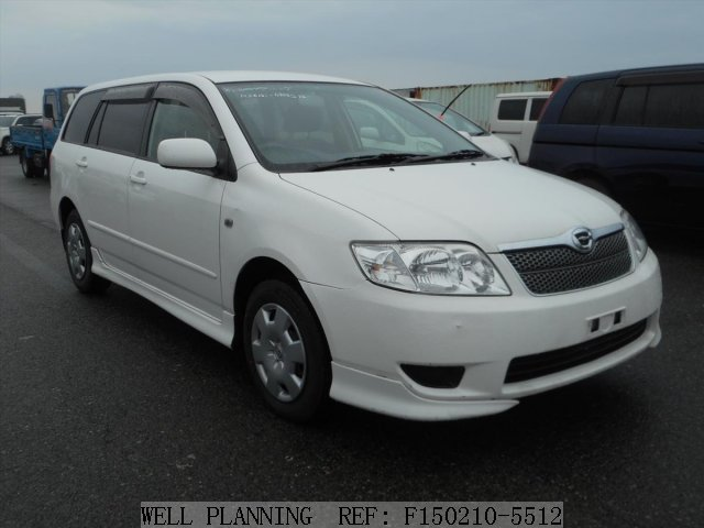 Used TOYOTA Corolla Fielder X HIDSports Selection Wagon 2004