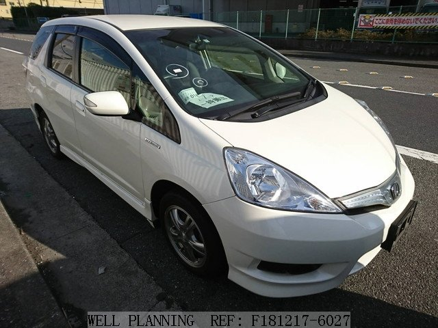 Used HONDA Fit shuttle HYBTID SMAR SELECTION Wagon 2014