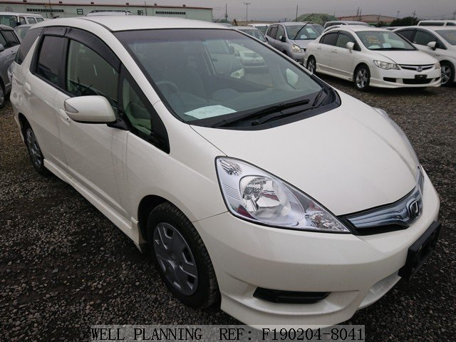 Used HONDA Fit shuttle HYBRID SMART SELECTION Wagon 2012
