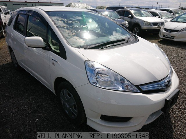 Used HONDA Fit shuttle Hybrid C Wagon 2013