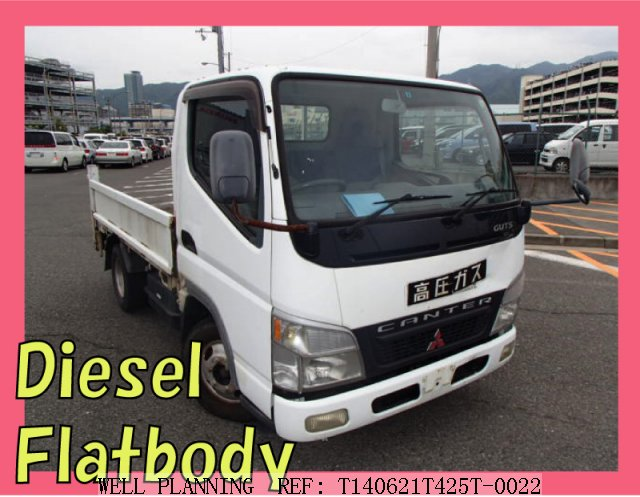 Used MITSUBISHI Canter Flatbody!!  Diesel!!  Truck 2002