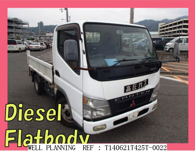 Used MITSUBISHI Canter Guts Flatbody!!  Diesel!!  Truck 2002