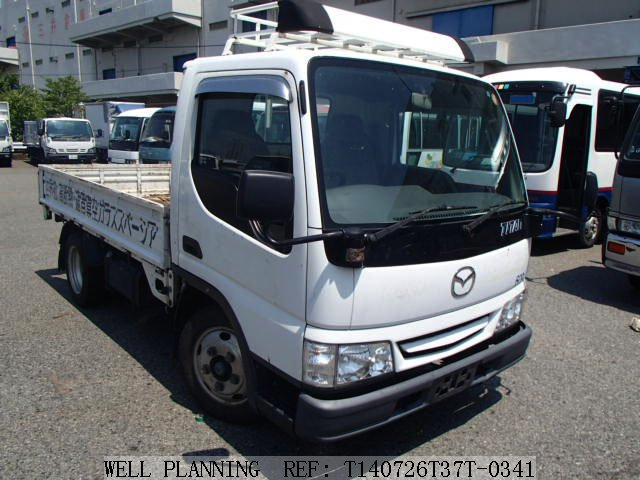 Used MAZDA Titan 2t Flatbody/MT Diesel Truck 2000
